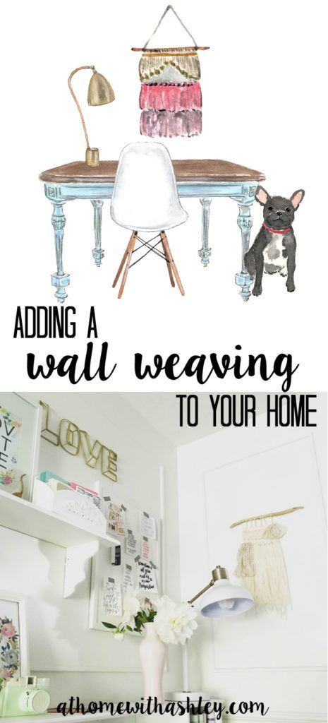 Adding Weavings to my Home - at home with Ashley