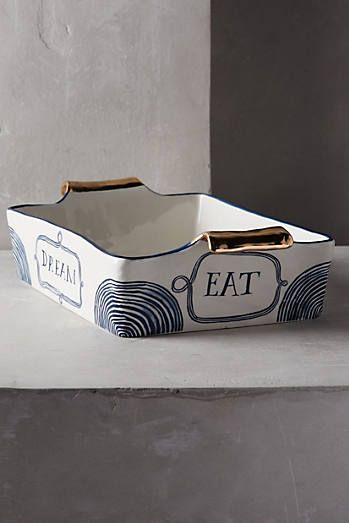 Ruan Hoffmann New Spring Collection for Anthropologie 2015,Dreambirds Lasagna Baking Dish