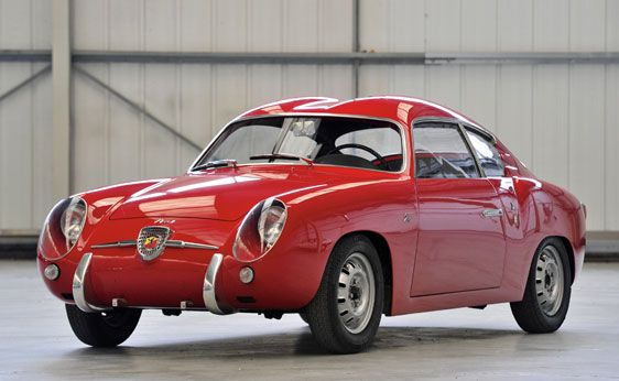 1956 Fiat Abarth 750 GT 'Double Bubble'