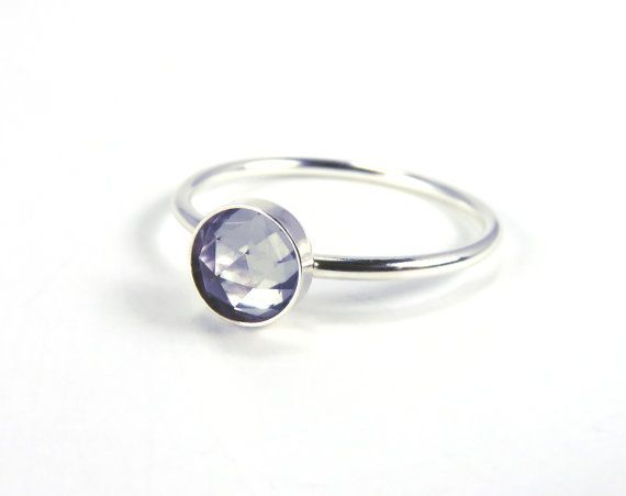 Alexandrite Ring Silver Alexandrite Ring Silver by AWildViolet