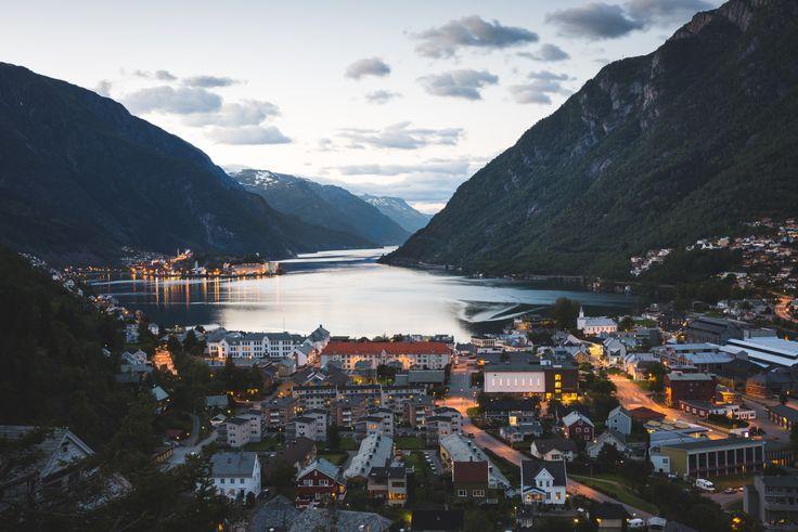 robsesphoto:   Blue hour in Odda, Norway - An Early Morning Walk