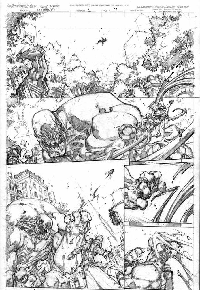 Ultimates Preview pages 2//Joe Madureira/M/ Comic Art Community GALLERY OF COMIC ART