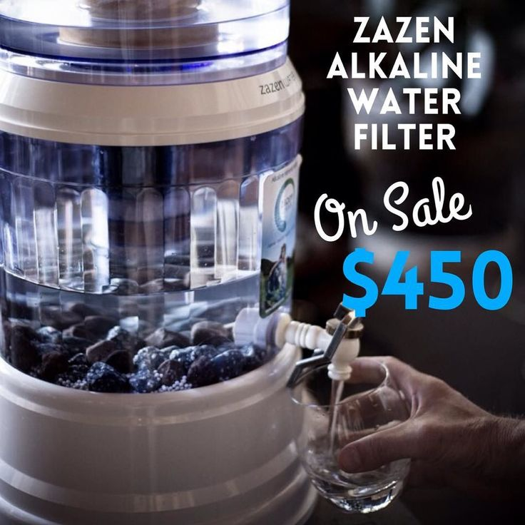 Put Your Family S Health First With A Zazen Alkaline Water