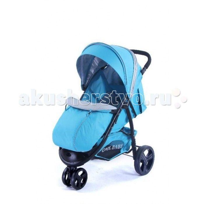 Прогулочная коляска Cool-Baby KDD-6799Z  Прогулочная коляска Cool-Baby KDD-6799Z трехколесная коляска для детей от 6 месяцев до 3 лет. Большой капюшон отлично защищает малыша от ветра,дождя и солнца. Для удобства родителей предусмотрена регулировка ручки по высоте. Имеется вместительная корзина для игрушек родительской ручкой.  Особенности: сложение одной рукой жесткая,регулируемая спинка-3 положения(до лежачего) регулируемая подножка, покрыта пленкой ПВХ пятиточечные ремни безопастности…