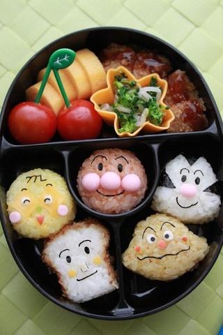 Japanese Anime Anpanman Family Bento