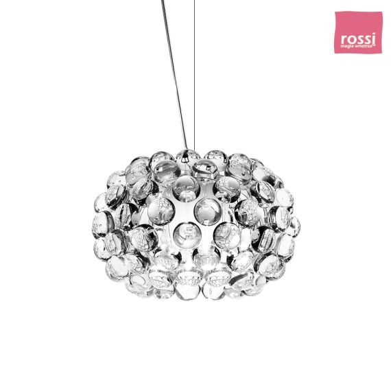 FOSCARINI Caboche lampa wisząca, mała, kolor transparentny 138027 16