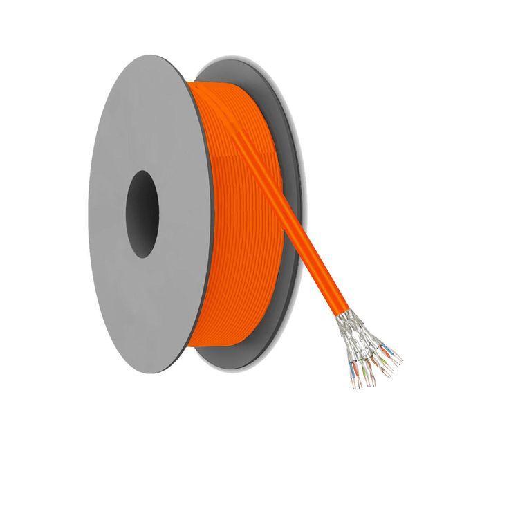 CAT 7 2x S/FTP Netwerkkabel op rol - 100 meter