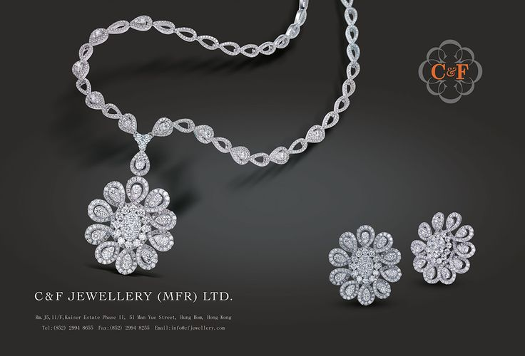 C & F Jewellery (Mfr.) Ltd. #HKJE Magazine FallWinter 2015 #Advertisement…