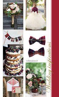 **** Winter Wedding Tartan Theme *** #weddingday #ScottishWeddingideas #inspirations #winter #weddingideas #love #inlove #ido #wedding #matrimoni #nozze #temanozze #scozzese #inverno #rustico #country #rusticchic