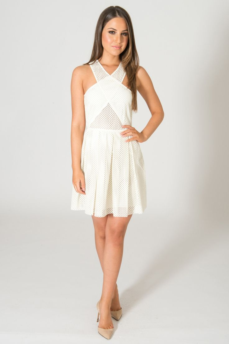 10  ideas about White Leather Dress on Pinterest  Fashion details ...