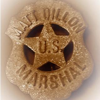 US Marshal Matt Dillion's Badge