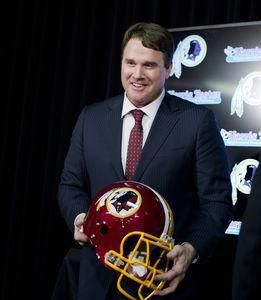 Introducing...                               Jay Gruden, Head Coach of the Washington Redskins‼️