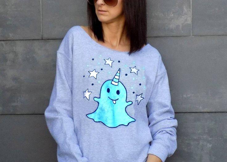 """LUŹNA bluza """"MAGICZNY DUSZEK""""  - AK-Creativo - Bluzy"""