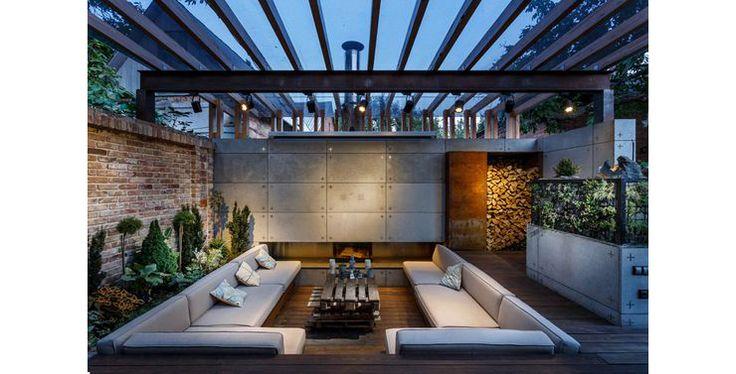 10 besten dakterras bilder auf pinterest balkon outdoor for Gartenpool eingelassen