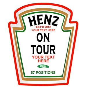 Henz On Tour- Hen Party T-Shirt so appropriate for you J :p