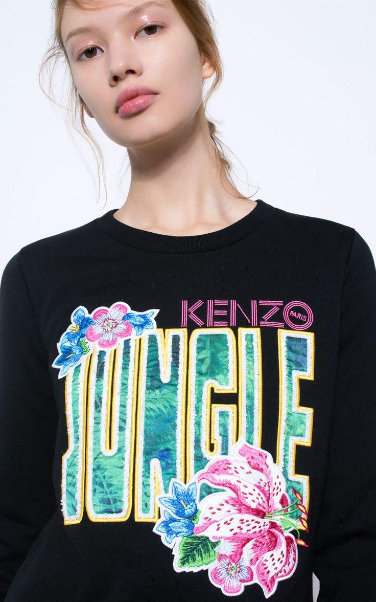 Jungle Sweatshirt, , KENZO