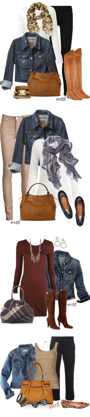 """""""Rockin the Demin Jacket"""" by michelled2711 on Polyvore"""