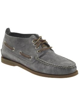 LOVE this new purchase! Sperry Top-Sider A/O Chukka Suede   Piperlime