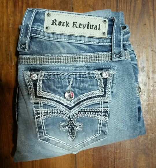 Rock Revival Celinda FA7. Oh my closet is full of Cheap Rock Revival Jeans from my local outlet store, all are new with tags, and not factory seconds, paid $15 for these. Love real retail prices, not store markups!