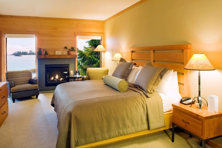 Our newly renovated (2012) rooms in the Wickaninnish Inn on the Pointe  www.wickinn.com