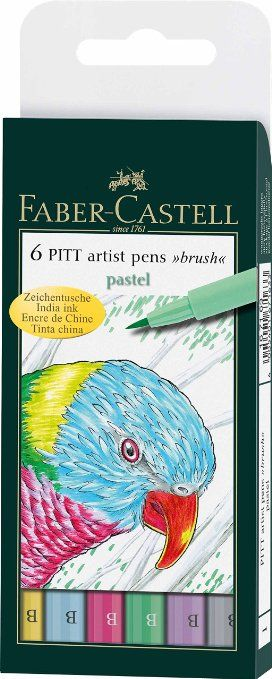 Pitt Artists Pen Set 6 Pastel