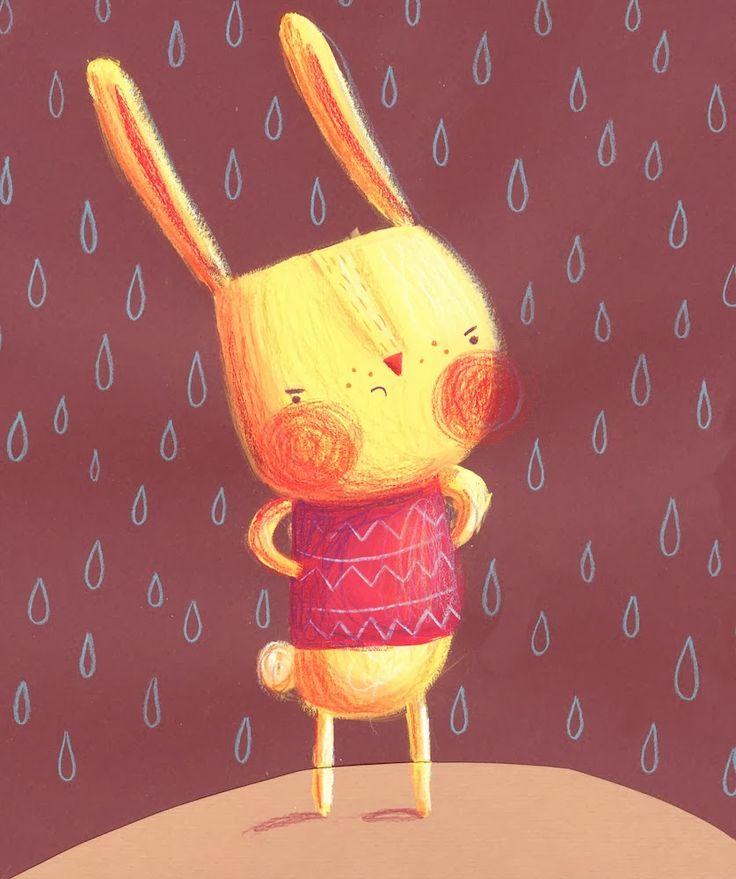 Illustration by Monika Filipina Trzpil: Children's Book Illustration MA Show!!! #nejito: