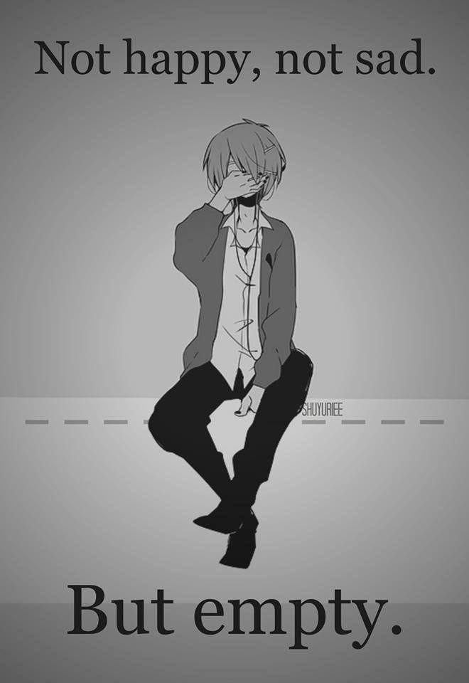 Não feliz, não triste...mas vazio