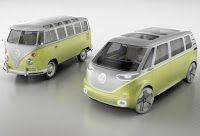 Carro Elétrico, automóveis elétricos, veículos elétricos, carros elétricos, ônibus: Volkswagen mostra elétrico tipo Kombi