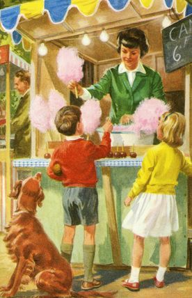 Candy floss - Peter And Jane, Have a go