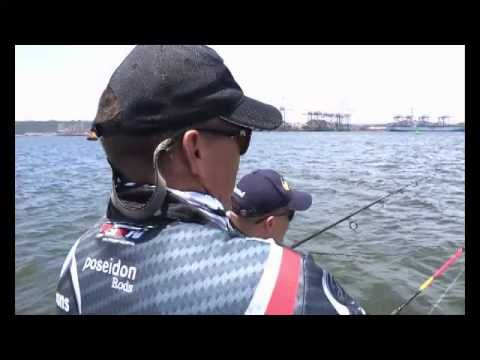 ASFN PowerAngling in Durban harbour for Grunter on the light tackle - YouTube