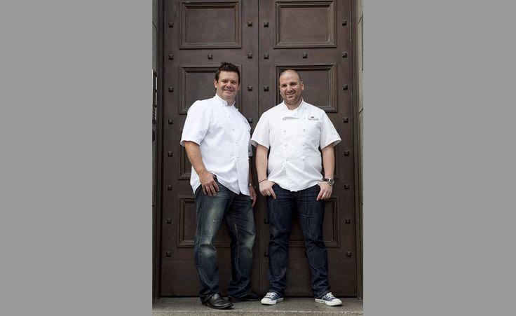 Master Chef Hosts - Gary Mehigan & George Calombaris: photo by www.sdpmedia.com.au