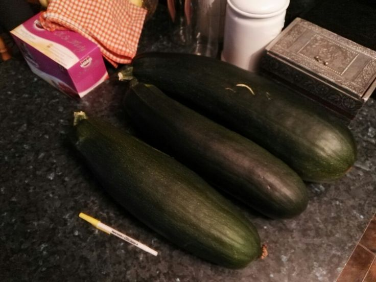 Zucchini that just keeps getting bigger and bigger