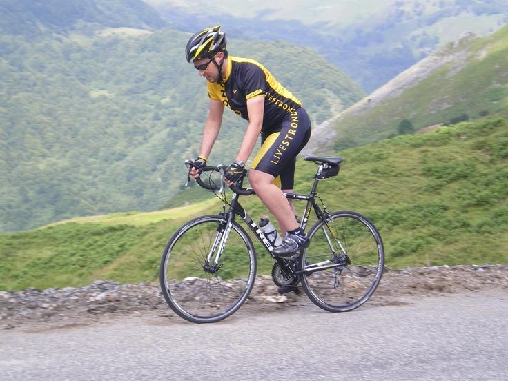 Sergio Lafuente - Col du Soulor. Tour de Francia 2011