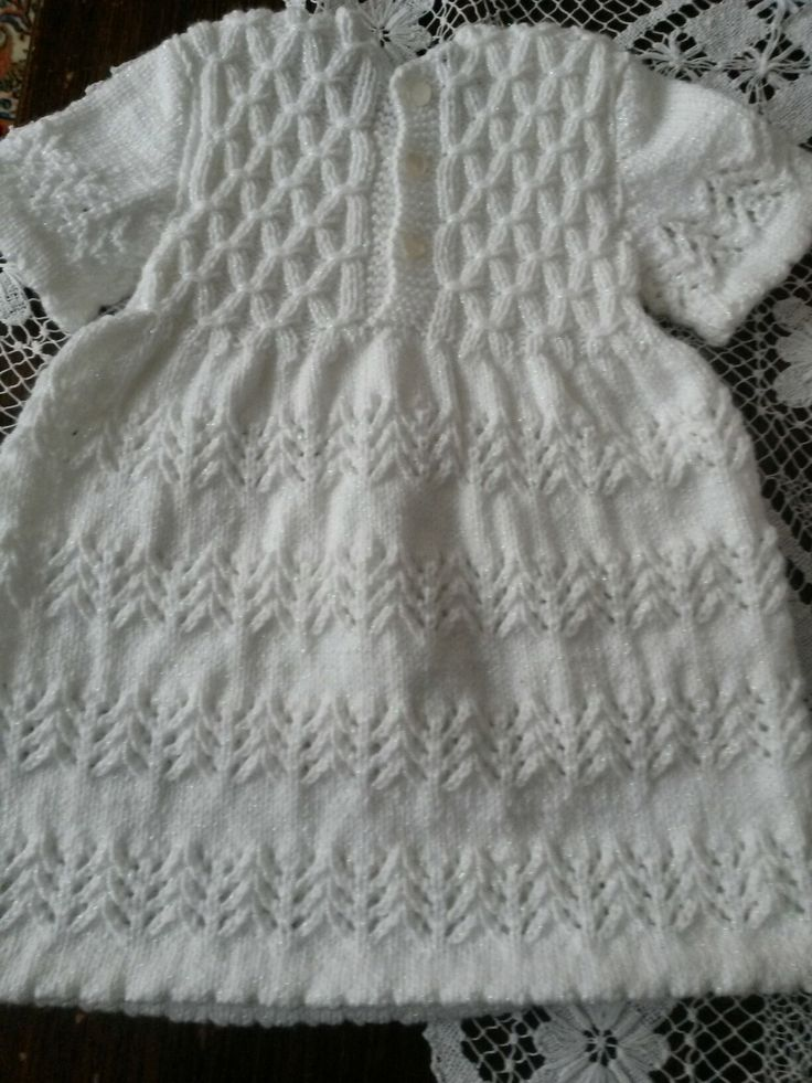 Kız bebek elbisesi - arka