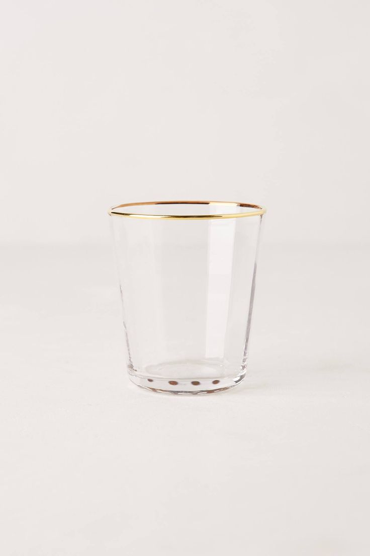 Sparkle-Trimmed Tumbler // Anthropologie