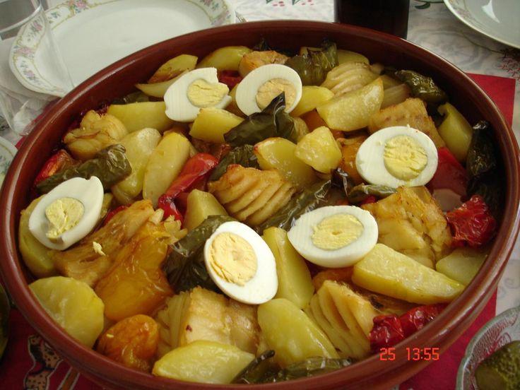 Receita de Bacalhau à moda espanhola