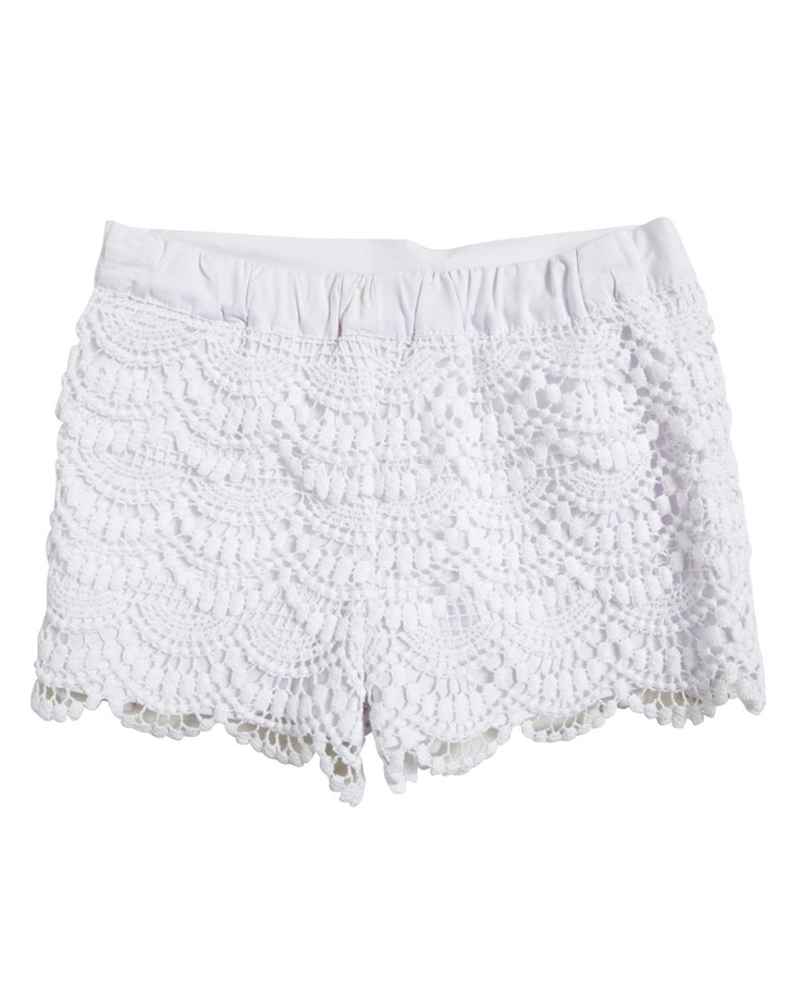 Layered Crochet Short - Bardot Junior