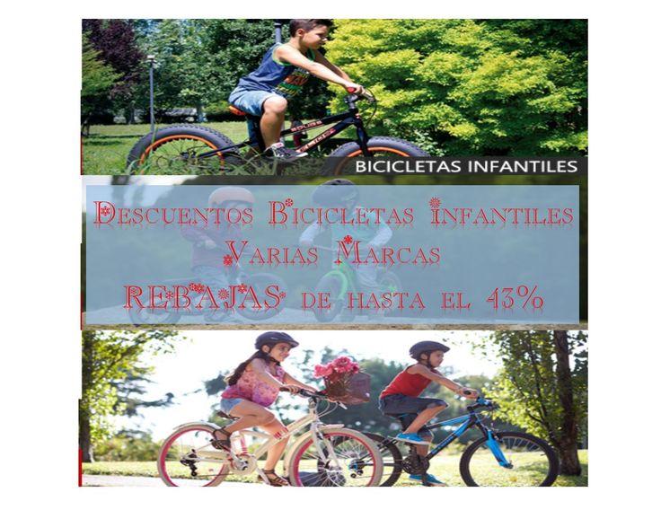 Regalos para navidad: Ofertas bicicletas para niños con descuentos de hasta el 43%