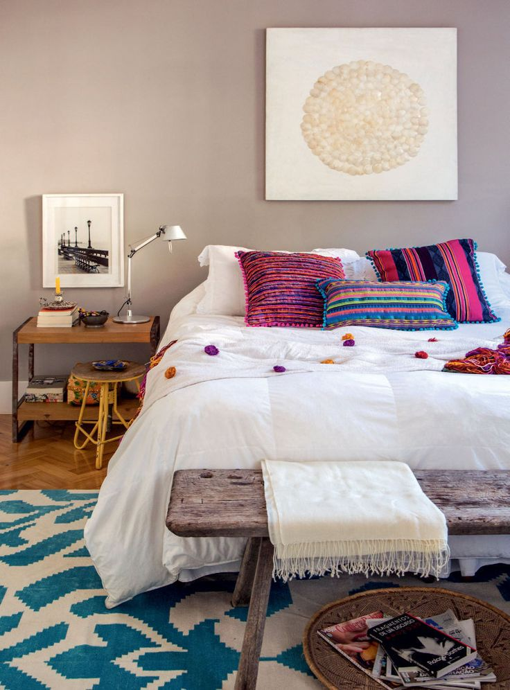 Apartamento Colorido-Leblon - By arquiteta Renata Bartolomeu, autora do projeto de reforma - Post do casa.abril.com.br