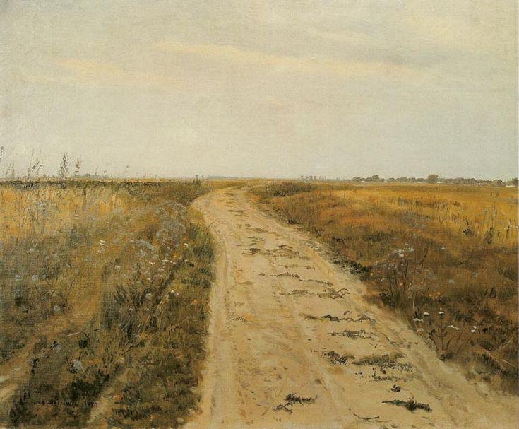 Józef Chełmoński - Droga w polu | Obrazy | Pinterest | Art ...