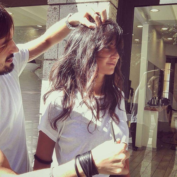 #lovemyjob #haircut #haircouture #hairdresser #hairfashion #hairdo #fashionhair #fashionbeauty #fashionstyle #hairstyle #rome #robertmihaila #balduina #browniehair