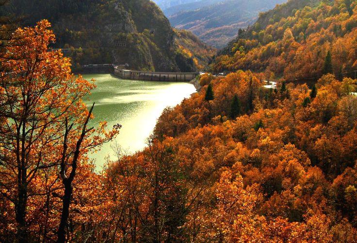 #autumn #Greece #lake_plastira #karditsa #hellenicdutyfreeshops