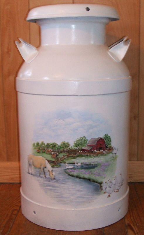 37 Best Milk Can Ideas Images On Pinterest Milk Cans