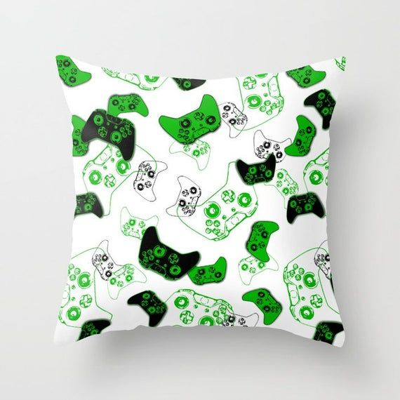 Video Game Pillow with Insert, Gamer Pillow, Gamer Throw Pillow, Gaming Pillow, Gamer Gifts for Game