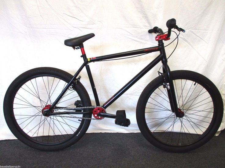 Super cool bike. A cross between a fixie and a BMX. Handlebars Chromoly riser. Saddle Specialized P. Series. Wheels Specialized P.Series. Grips Specialized P. Grip. Stem Specialized P. Series. Pedals Specialized P. Series nylon platform. | eBay!