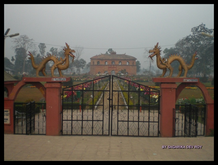 An Amphitheatre of the Ahom Kings