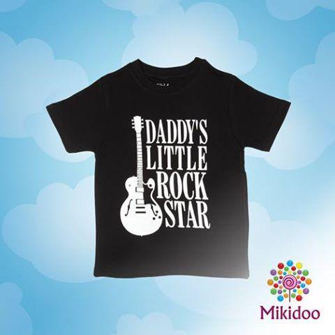 Doğuştan starlara özel bu tişört mikidoo.com'da 24,90TL! https://www.mikidoo.com/DADDYS-LITTLE-ROCKSTAR-ERKEK-COCUK-TISORT-d154