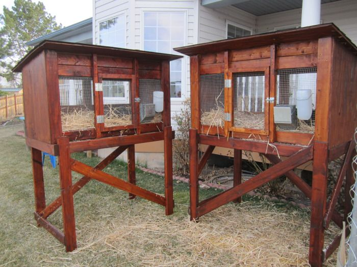 rabbit hutch designs how to make woodworking projects