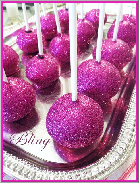 Purple Chocolat Home: Periwinkle's Birthday Party and Disco Dust Pops
