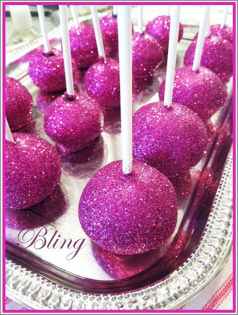 Purple Chocolat Home: Disco Dust Pops